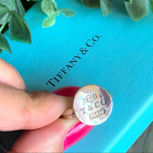 Tiffany & Co. Jewelry - • RARE • Vintage Tiffany & Co. Round Stamp Ring